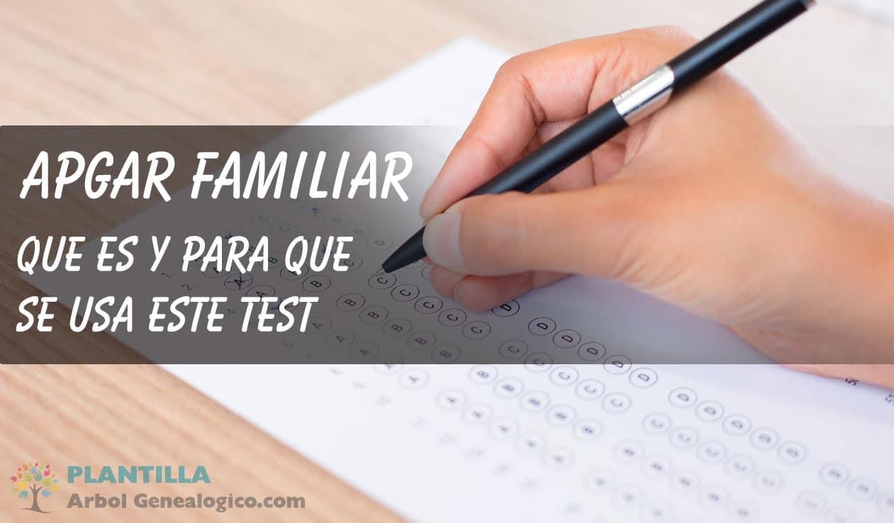Test APGAR Familiar