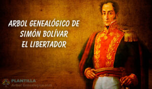 Árbol genealógico de Simón Bolívar