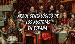 Árbol genealógico de los Austrias de España